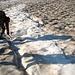 Der Gletscher hat Hunger! Ein Mitglied der Seilschaft verschwindet in der Gletscherspalte