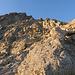 Typisches Gelände mit viel losem Gestein