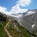 le nubi non abbandonano il Passo Bottarello...