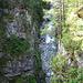 tief unten fließt die Landwasser
