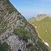 der Grat kurz vor dem Gipfel, dahinter, der Gamsberg