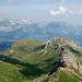 Blick über den Margelchopf hinweg zum Alpstein