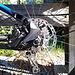 <b>Oggi inauguro il nuovo disco freno posteriore Shimano RT-EM800- M e le nuove pastiglie freni sia anteriori sia posteriori Swisstop Disc 28.</b>