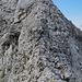 Nochmals der Gipfelaufbau des Bös Fulen mit dem Aufstiegsgrat.