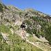 A Engi, vue sur le Galihorn et ses alpages abandonnés.