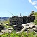 La ruine de l'alpage de Bockflue (2149m)