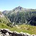 Vue de Bockflue, Irgilihorn (2458m), Pizzo  Straciugo et Ricca.