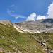 nach dem Abstieg, zurück am Gamsgrubenweg … gute Übersicht über die Tour und den Aufstieg am Südgrat …