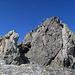 die letzten Meter zum Gipfel, das Gipfelkreuz bereits in Sicht.