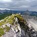 Der Gipfel des Seelakopf (2368m)