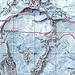 Routenverlauf Naso del Liskamm Überschreitung