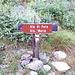 <b>A circa 1590 m di quota inizia il sentiero per il rifugio.</b>
