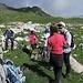 Hier irgendwo zelten wir... den Platz suchen wir nach der Bergtour