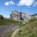 zurück auf dem markierten Wanderweg / einmal mehr der Wissberg
