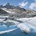 Monte Moro Gletschersee - mit Strahlhorn
