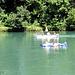 Vergnügen auf dem Wasser