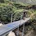 Brücke über den Torrent du Valsorey