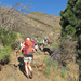 Verso Degollada de La Mesa 1247m