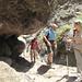 Passaggio scavato nella roccia