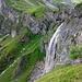 Wasserfall beim Hüttenzustieg