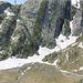 la singolarità geologica della Cresta dell'Arzo vista dal Lago Sfundau
