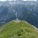Steiganlage über den Südwestrücken von Gramais
