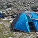 Meine Sachen sind zusammengeräumt, jetzt musste ich nur noch mein Zelt abbauen. Ich hoffe, dass es dieses Jahr sicher noch einer Zeltübernachtung in den Bergen gibt :-)