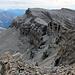Seitenblick zu den zwei Gipfeln, die ich im Anschluss zum Ringelspitz beschreiten werde.