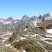 Au sommet du Oberblatthorn.