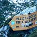 Eccoci al bivio per la Val di Zocca