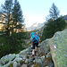 lungo il sentiero che sale in Val di Zocca - parte alta