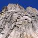 la parete sud del Pizzo Torrone Orientale... qui sale la Osio-Canali.......