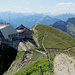 Bei der Bergstation vom Le Moléson.