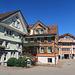 schön bemalte Häuser in Appenzell<br />