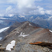 Blick zurück auf den Aufstiegsgrat