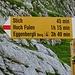 Bödmer, ein Punkt den man sich merken muss. Hier gibts Wasser eine Badewanne und einen trockenen Stall unter einer grossen Felswand. .....