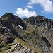 Aufstieg zum Fanastock mit gut sichtbarem Weglein in Bildmitte