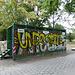 Öffentliche Toilette im Tiergarten, nicht empfehlenswert