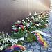 Am 13.8.61 wurde die Mauer gebaut, Kranzniederlegungen zum Jahrestag
