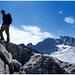 Aufstieg über griffigen Granit