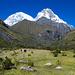 Immer wieder der doppelgipflige Huascaran