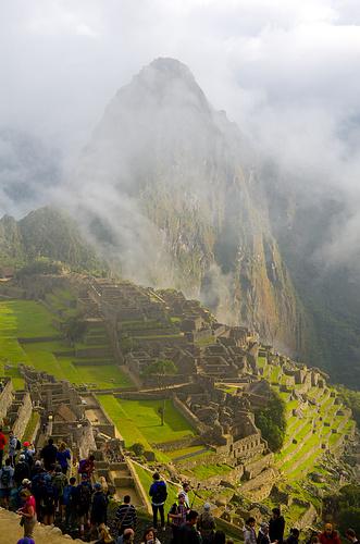 Machu Picchu - von dem typischsten aller Blickwinkel