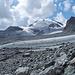 Man nähert sich durch recht wilde Blockfelder dem ersten zu überschreitenden Gletscher: Hohlaubgletscher