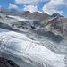 Gesamtansicht des Glacier Trails vom Schwarzbergkopf aus gesehen