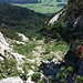 Schon recht weit unten am Weg zur Grimminghütte