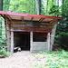 im Abstieg nach Zell im Wiesental gibt es mehrere dieser offenen Hütten (sind auch in der Karte eingezeichnet)
