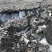 Einblick in traurig stimmende Gletscherreste ...