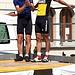 <b>Due ex professionisti della bicicletta: Marco Vitali e Rocco Cattaneo.</b>