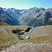 Il Vallone di Liconi: antico luogo all'aperto in cui avveniva la coltivazione mineraria di ferro. Sullo sfondo si apre la splendida Valeille.