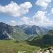 Sich über den Spuliersee zum Arlberg